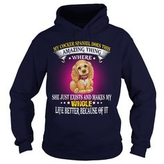 Do You Love Your Cocker Spaniel Dog? This Is For You! Buy now!