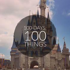 100 thing to do this spring at Disney! DCP Disney College Program Bucket List