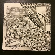 I am the diva - Certified Zentangle Teacher (CZT®)