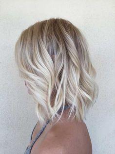 Blonde Bob Hair Ideas