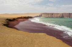 "Playa Roja, Paracas, Peru - ""playa roja"" via david_fisher"