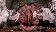 """The first time I remember seeing the depiction of Venus de Milo was in the movie """"The Adventures of Baron Munchausen"""". It left such an impression that when I saw the painting """"The… Birth of Venus on Adventures of Baron Munchausen Aphrodite Aesthetic, Terry Gilliam, The Birth Of Venus, Uma Thurman, Monty Python, Renaissance Art, Italian Renaissance, Coven, Film Stills"""