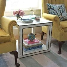 IKEA Hacks - 16 Ingenious DIY Projects - Bob VilaThe nail head Lack table is a quick and simple Ikea upgrade that requires little more than strips of nail heads and a hammer. When you're finished the table will read less modern and more Hollywood glamour.