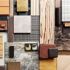 Experimenting with materiality and textures. Material Board, Kelly Wearstler, Color Pallets, Color Trends, Color Inspiration, Color Schemes, New Homes, Colours, Cold