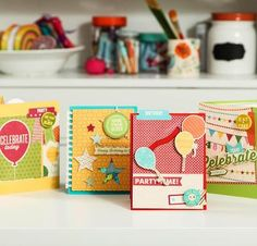 Create Stunning Birthday Cards: Jillibean Soup Birthday Bisque Course Kit