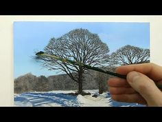 #79 SNOW OIL PAINTING | Michael James Smith - YouTube