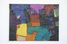 Composition 30 x 40cm Huile sur toile