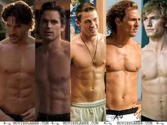 Magic Mike. I don't care if the movie even has a plot.
