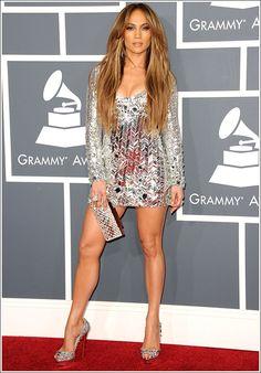 Jennifer Lopez in Emilio Pucci, 2011 Grammys ~ Best red carpet dress ever…