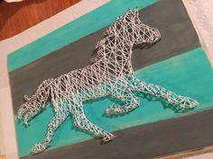 DIY Horse String Art