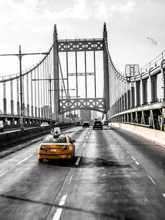 Taxi across the bridge by Christan Cooper Across The Bridge, Taxi, Photography, Travel, Photograph, Viajes, Photography Business, Traveling, Photoshoot