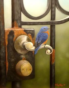 """""""Rust And Blue"""" - by Ray Stacy"""