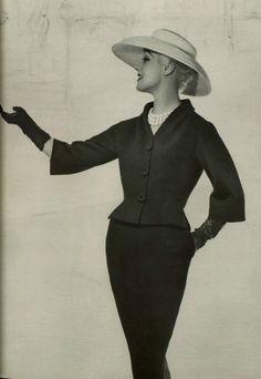 Cristóbal Balenciaga Suit, 1956