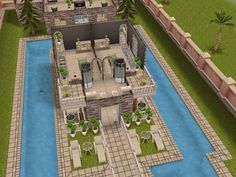 House 32 level 2 (front) #sims #simsfreeplay #simshousedesign