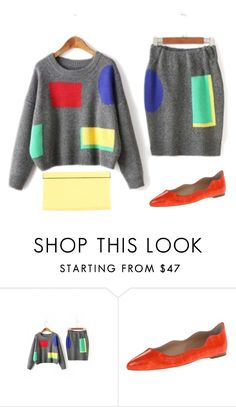 """""""😃"""" by faye-valentine ❤ liked on Polyvore featuring WithChic, Loeffler Randall and Jimmy Choo"""