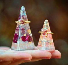 resin cones