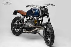 """""""Hurricane"""" by South Garage Motor Co. (from Otto Nero) Bmw Motorcycles, Custom Motorcycles, Custom Bikes, Bmw Cafe Racer, Cafe Racers, Bmw Scrambler, Bmw Boxer, R80, Kustom"""
