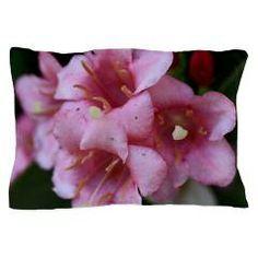 Pink Flower Macro Pillow Case > Pink Flower Macro > Rosemariesw Design Photo Gifts #Bedlinen