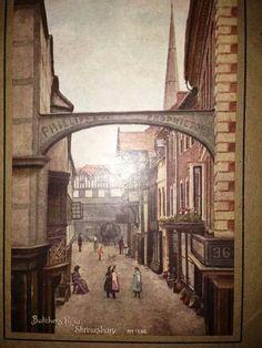 Butchers Row Shrewsbury