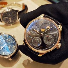 Perpetually Portugieser from this evening's @iwcwatches_sea perpetual calendar evening.