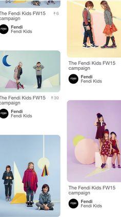 Trowback memories - Collections Fendi Kids FW 2015 👧👦👫♣♥♠❗❗❗❗❗@fendi