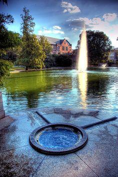 Mirror Lake at OSU, my alma mater. A beautiful campus!