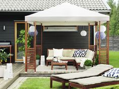 Ikea gartenmöbel lounge  6 outdoor furniture trends to try in 2017 Timber table settings ...