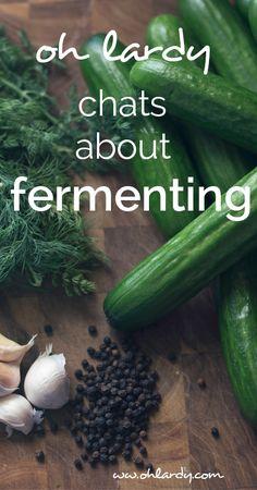 fermenting.