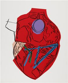 ANDY WARHOL (1928-1987) Heart