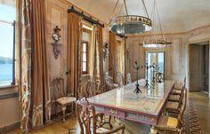 Mediterranean Dining Room in Sorrento, IT by JP Molyneux Studio