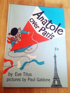Vintage Anatole Over Paris 1961 Hardcover 1st by AwkwardCookie, $24.00