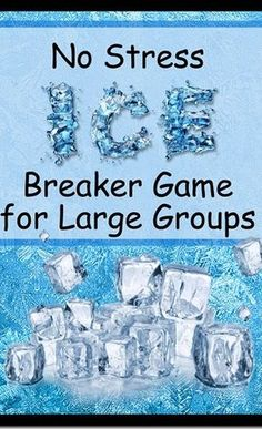 This is a fun idea for an ice breaker game for your next family reunion or fam. This is a fun idea for an ice breaker game for your next family reunion or family party. Icebreaker Activities, Activities For Girls, Games For Teens, Adult Games, Group Activities, Large Group Icebreakers, Group Games, Fun Games At Work, Icebreaker Games For Work