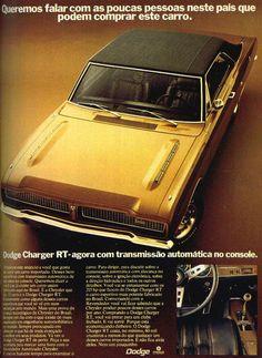 Anúncio Dodge Charger RT - 1973