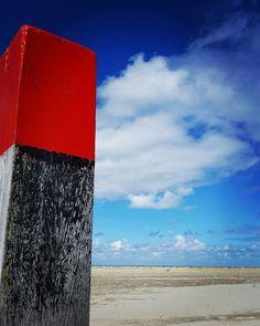 Veel kleur op het strand van #Terschelling