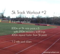 One of my favorite 5k workouts  