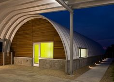 In today's housing market, quonset hut homes are a popular option mainly because they're less expensive to build or buy than other types of homes, and can be erected in less time. Description from pinterest.com. I searched for this on bing.com/images