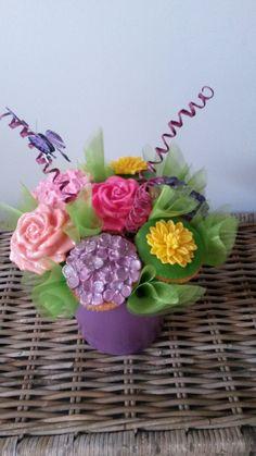 Cupcakes boeket
