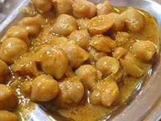 Chana Masala (Chick Pea Masala) Recipe - Pakistani Main Course Bean - Fauzia's Pakistani Recipes - The Extraordinary Taste Of Pakistan