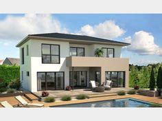 Italian style family home boticelli by ehrenreich gmbh - Walmdach moderne architektur ...