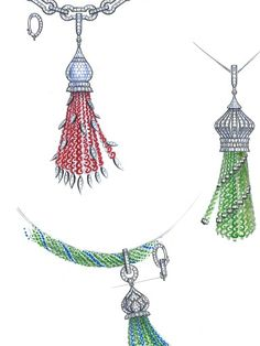 Jewelry sketch