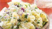 New Potato Salad Dill Potatoes, Salad Dishes, Just Bake, Hungarian Recipes, Barbecue Recipes, Vegetable Sides, Potato Recipes, Salad Recipes, Potato Salad
