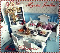 Lissun nukkekoti, Lissu's dollhouse: Rauhallista Joulua! / Joyful Xmas