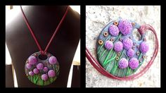 Giant Alliums in polymer clay. By shilpa Shajan Week 22 , #2015PCChallenge:
