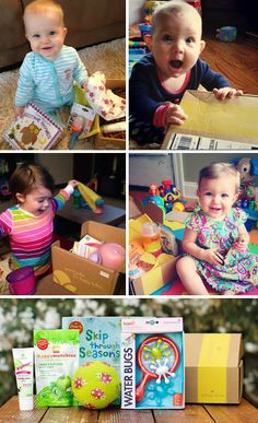 Citrus Lane l Get a surprise box of toys, books, and other goodies for your child every month! Fun gift idea for new parents!