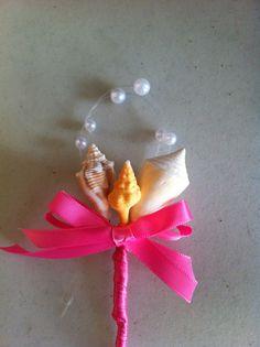 Seashell Beach Destination Wedding Sea Shell by caroledoc on Etsy, $8.00