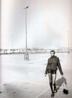 supermodelshrine:Lorraine by Corinne Day, 1991