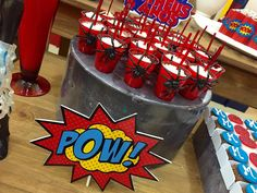 Encontrando Ideias 10th Birthday Parties, Superhero Birthday Party, Man Birthday, Iron Man Party, Spiderman Theme, Circus Party, Party Packs, Birthdays, Avengers