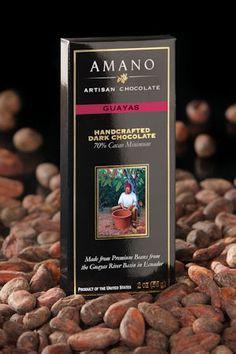 """Amano Chocolate """"Guayas"""" 70% dark from Ecuador"""