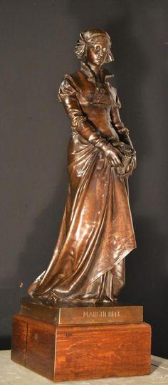 daisy  Bronze From Eugene Aizelin (1821-1902), Antiquités Maison Lemarié, Proantic