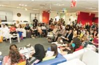 Oasis500 'Treps Pitch Their Hearts Out At Google MENA